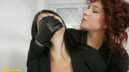 Black damsels cloth gagged bondage and tied ebony fetish - 2 part 2